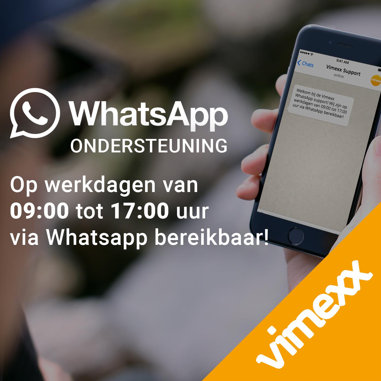 Whatsapp support Vimexx